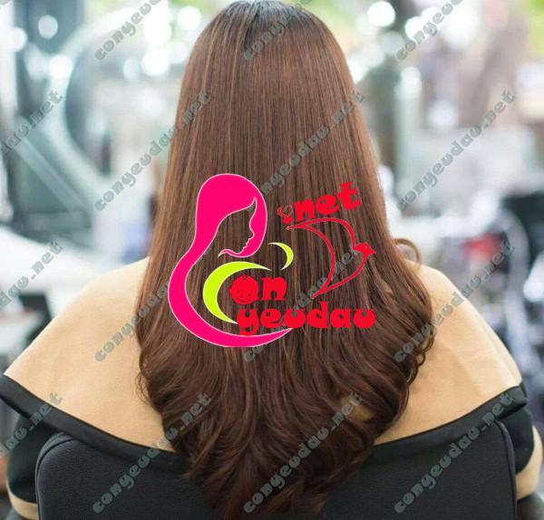 Kiểu tóc cho U30 hiện đại: Tóc thẳng uốn đuôi