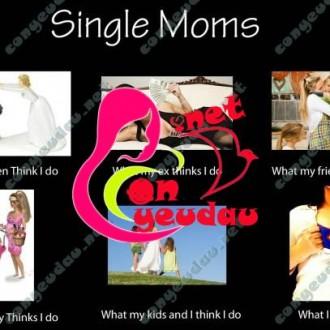 Bí quyết sống để trở thành bà mẹ đơn thân hạnh phúc