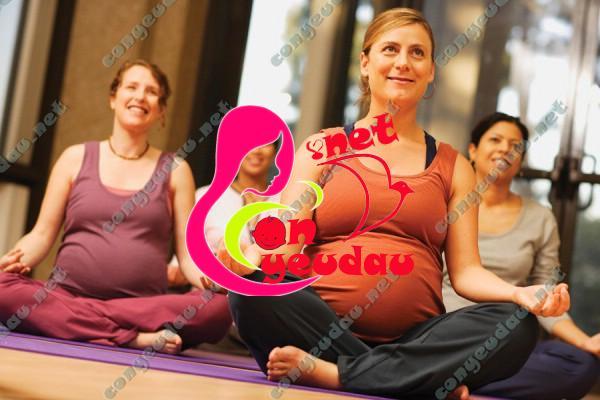 Các loại hình vận động tốt cho sức khỏe bà bầu