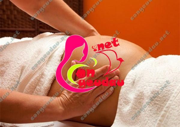 Lợi ích của việc massage bụng mẹ trong thai kỳ