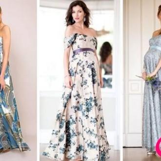 Gợi ý những mẫu đầm dạ tiệc đẹp thích hợp cho mẹ bầu