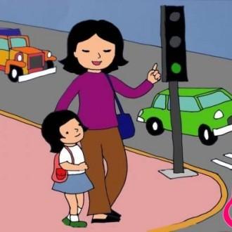 Hướng dẫn cách dạy trẻ 3-6 tuổi nguyên tắc về an toàn giao thông