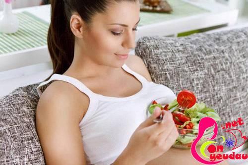 Kế hoạch ăn uống chuẩn 6 bữa 1 ngày cho mẹ bầu