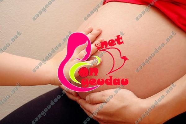 Dấu hiệu nhận biết mẹ sắp lâm bồn sinh con